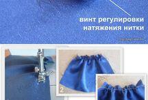 sewing (šitie)