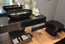 Banheiros   Projetos #TR / Projetos feitos com materiais das lojas Toque & Retoque.