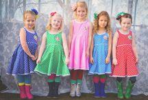 Bellefien / Hand gemaakte kleding voor meisjes die van kleur houden