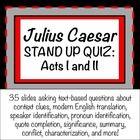 Julius Caesar Teaching Resources