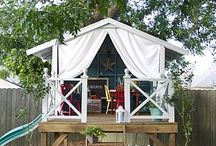Treehouse/Swingset Ideas