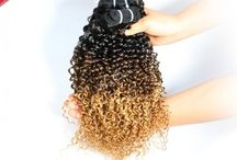 Ombre Hair / Hot Sale product Ombre hair, looks very good and fashionable.