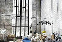 Industrial modern homes