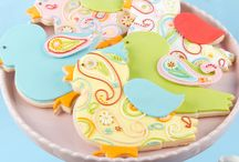 Decorated Sugar Cookies with Fondant