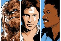 Star Wars Art / A long time ago in a galaxa far, far away...