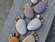 voetjes van steen