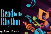 Summer Reading Challenge 2015 / Read to the Rhythm!  June 13 - August 25 This year's Summer Reading Challenge is filled with good reads, good eats, and activities for all age groups! www.fresnolibrarysrp.org