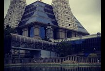 ISKCON Bangalore Architecture / Images of the temple architecture