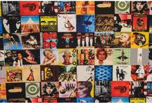 ROCK N' ROLL FABRICS / Musicians and nostalgic album covers on fabric