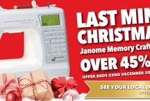 Current Janome Australia Promotions