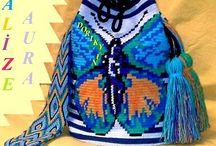 Wayuu Bags- Etnik tığişi çantalar