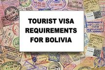 Bolivia Visa Info / Information on Bolivia Visa Requirements for Tourism, Students, Volunteers, Humanitarian Aid Workers, Expats, Retirees, Living and Working in Bolivia. See more: www.boliviabella.com/visa.html / by Bolivia Bella