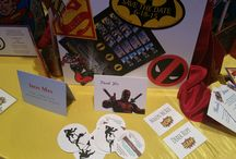 2D Geek Chic Stationery / The Differently Designed Duo are taking stationery in a new direction! Give us your comic book, graphic novel, gamer themed event and we will create a custom designed stationery set just for you!  #WeddingInvitations #CustomStationery #ThemedEvents #SuperHeroes #Parties #Birthdays #Ideas #Decor #GeekChic Contact Us today!! Prices starting as low as $6.75 per invitation http://www.differentlydesigned.com/