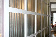 corrugated walls