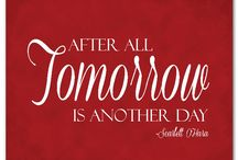 "Miss Scarlett / ""After all, tomorrow is another day"""