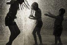 In the Rain / by Kelly Littlefield Boren