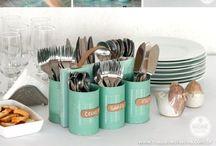 Home organizing DIY