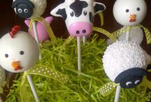 BARNYARD ANIMALS THEME / This is such a happy, colourful, cute theme for a baby shower or first birthday party. Children can really identify with the animals and it really sets the tone for mummy to be with her baby shower.