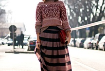 Midi and maxi skirts