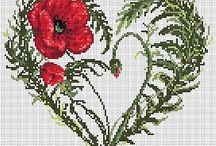 Cross Stitch: Walentynki