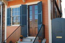 model tangga depan rumah