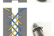 shoes and laces