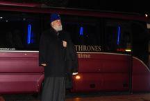 Επίσκεψη Ρωσων Ιεραρχων - Μετέωρα / Επισκεψη αντιπροσωπειας Ρώσων θρησκευτικων ηγετων