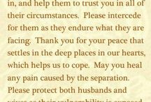 Prayers / Prayers and Praying / by Cathy Cavalcante