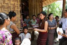 Myanmar, March 2012 / Health workers in Myanmar set out to reach 6.5 children with measles vaccine in March 2012. Photos and text by Christine McNab.