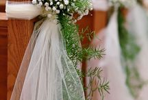 Wedding church decor