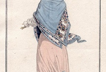Regency Shawl Gowns