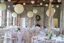 Decorating party venue