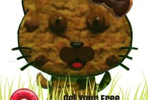 Cookie Candy Cat / Get your FREE paper Candy Cat! LIKE us here and send us a message! bit.ly/candycat