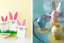 Wiosna / Pomysły prac plastycznych