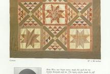 Antique quilts: Stars / Старинные квилты: Звезды
