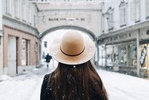 Girl and Hats