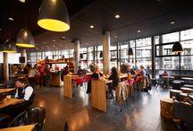 Koffiecorner Haagse Hogeschool / Volledige herinrichting en realisatie koffiecorner.