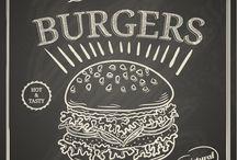 Decoraçao Americana Burger