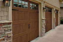 Stamped Metal Carriage Garage Doors