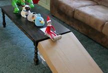 Daycare elf on the shelf ideas