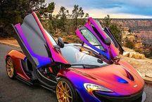 autos deportivos de lujo