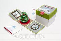 Exploding box ideas Christmas