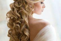 Half Up,Half Down wedding hairstyles