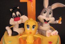 Marcel 1st birthday - Baby Looney Tunes