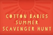 Summer Scavenger Hunt  / @cottonbabies is having a scavenger hunt!