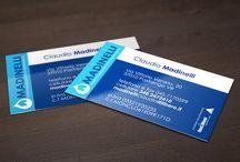 Biglietti da visita realizzati da StudioCentro Marketing