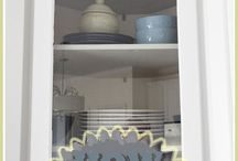 kitchen cabinets / by Stacey Kuhfeldt-Rivera