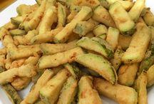 Patatas Fritas Con Calabacín