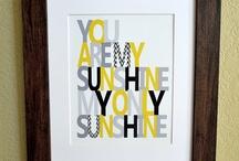 Sunshine Shower.  / by Lindsey Murray