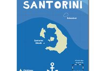 A Smart Map of Santorini / SANTORINI ISLANDS, CHRISTIANNA ISLETS & KOLOUMBOS UNDERSEA VOLCANO | Unfold Map Size 68 × 48 cm | Map Cover Size 16.0 × 13.6 cm | Map Scale 1:40.000 | Map Design by Spiros I. Staridas | Map Illustrations by Margarita Kondylaki (Motive Creative) | Map Publisher Staridas Geography © | Map Series: Smart Kids 01 | Map Edition: 2016 | ISBN 978-618-80387-5-2